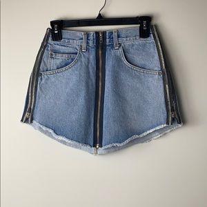 Carmar Beatrice jean skirt light blue Size 27